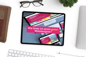 Wie finde ich einen guten Webdesigner -Ein sehr guter Webdesigner muss her - webempathie.de