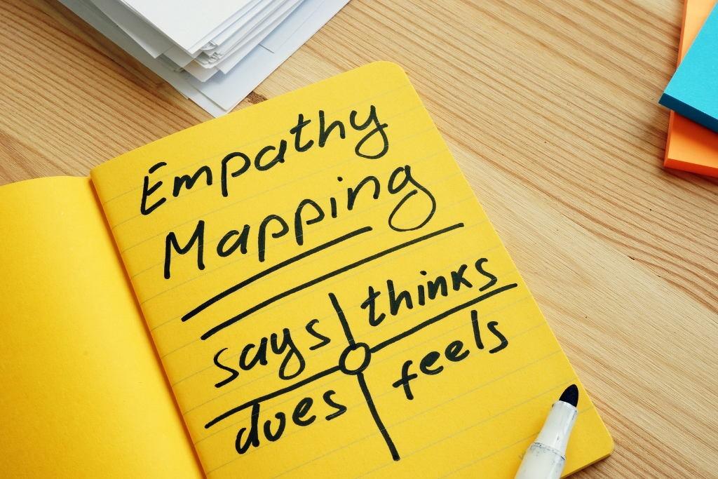 Empathy Map – empatisches Webdesign Empathie Definition